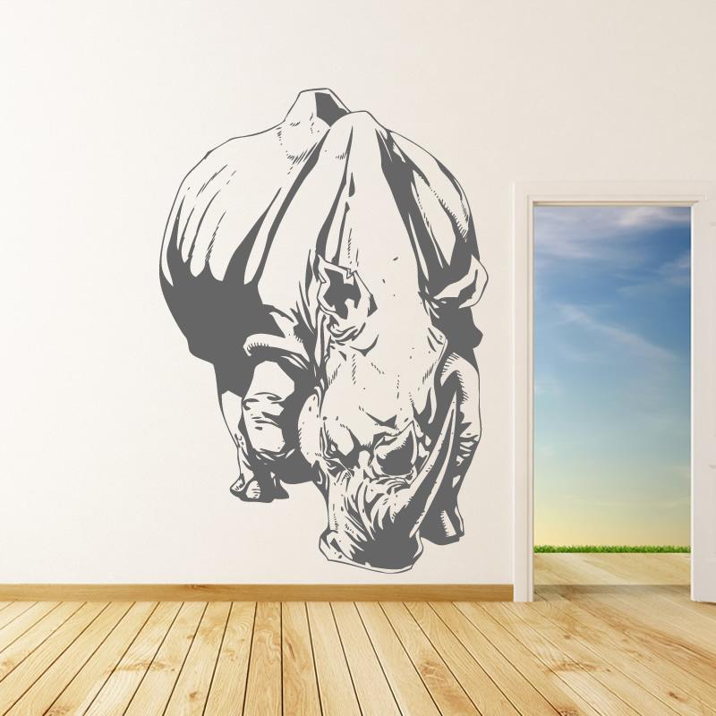 autocollant rhino