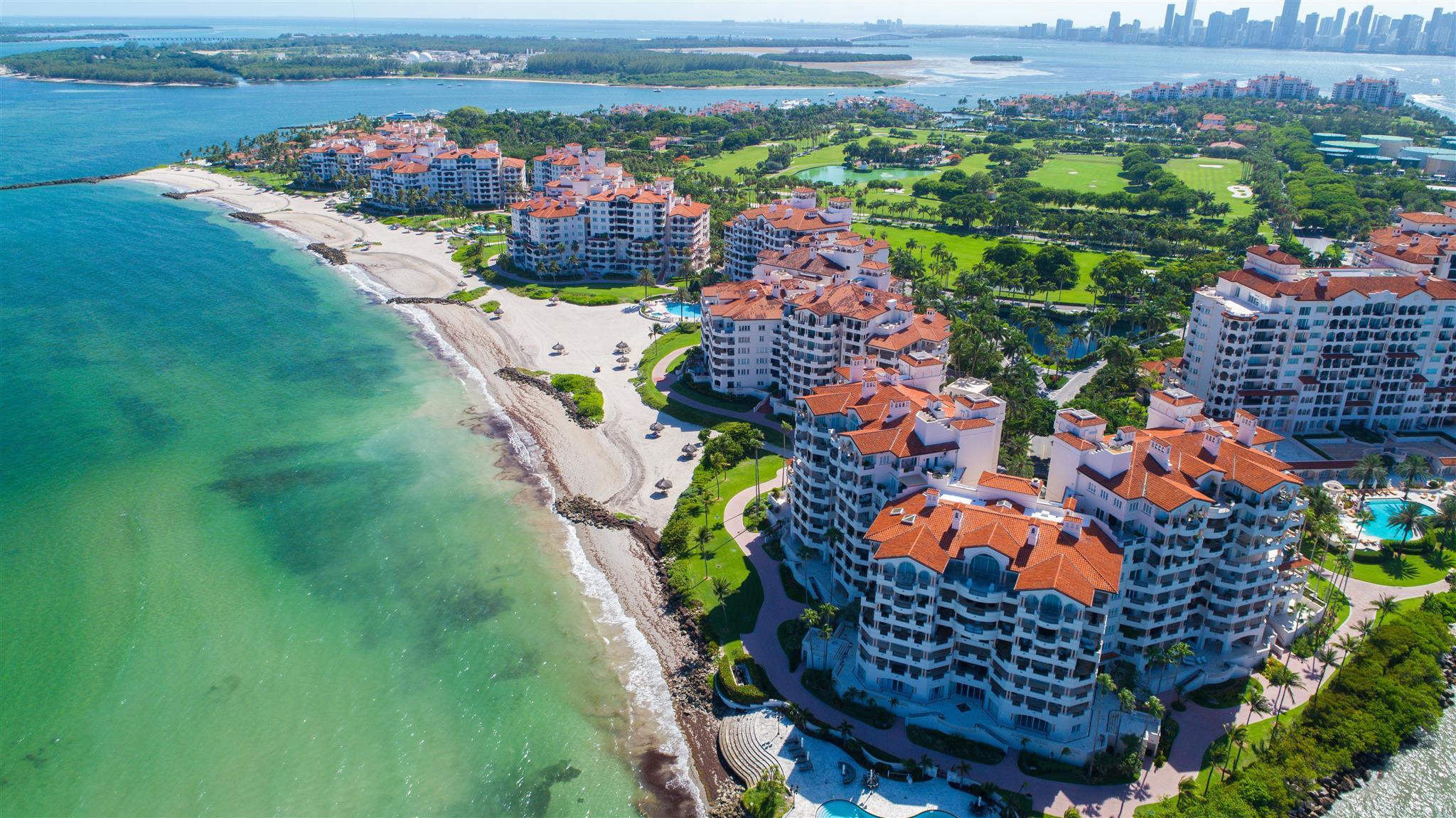 résidence en bord de mer à Miami